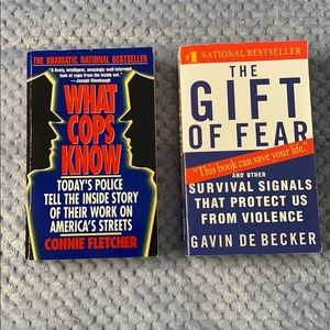 2 Books - What Cops Know & The Gift of Fear